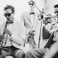 Wedding ceremony jazz music